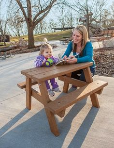 Toddler Picnic Table - Playground Accessories - Landscape Structures