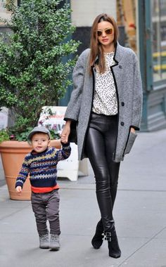 Can Miranda Kerr and baby Flynn be any more fashionable?