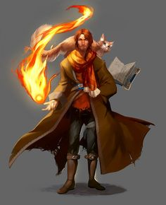 In honor of Thursday, I've finally finished Caleb from CriticalRole! Caleb took considerably longer than Jester due to real life and work and such. I also tested a different way to approach painting. Fantasy Male, Fantasy Wizard, Fantasy Rpg, Fantasy Artwork, Dnd Wizard, Fantasy Character Design, Character Design Inspiration, Character Concept, Character Art