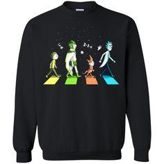 Abbey Road The Beatles Rick And Morty T shirts Hoodies Sweatshirts