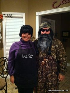Ms. Kay and Phil - Halloween Costumes 2013