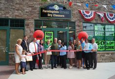 Farmingdale Green Dry Cleaner Grand Opening - organic, chemical free dry cleaning