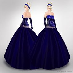 Image detail for -Masquerade Dresses Masquerade Prom, Masquerade Dresses, Gown Pictures, Blue Ball Gowns, Gowns Of Elegance, Prom Dresses, Formal Dresses, Costume Dress, Pretty Dresses