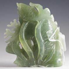 Chinese Carved Jade Fish