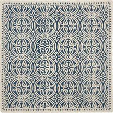 Cambridge Navy Blue & Ivory Area Rug