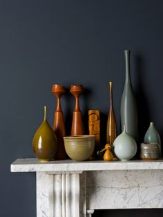 #collection #vases #colours