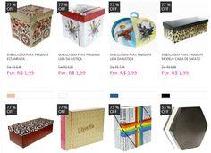 Caixas para Presente - 7 modelos disponíveis << R$ 199 >>