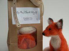 Love, Mrs Plop: Mrs Plop's Needle Felting Kit for Beginners - Make your own 'Frankie Fox'!