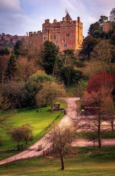 Dunster Castle, Dunster, Somerset, England.