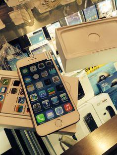 #iphone6 #clone #iphone rev by #simbiosctv simbiosc nada más llegar lo pides y  en '' en tu mano iphone6+ reventando todo #gold #original