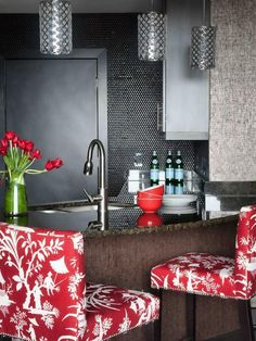 The kitchen design experts at HGTV.com share tips for updating your kitchen for less than $200. *** Read more details by clicking on the image. #eleganthomedecor