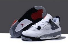 http://www.jordanaj.com/wholesale-hot-sell-discount-nike-air-jordan-4-iv-retro-womens-shoes-white-grey.html WHOLESALE HOT SELL DISCOUNT NIKE AIR JORDAN 4 IV RETRO WOMENS SHOES WHITE GREY Only 90.61€ , Free Shipping!