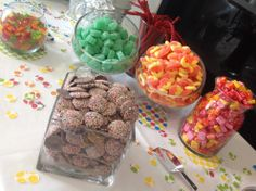 Simple delicious candy.  All the parents loved these treats and there was none left at the end of the night.