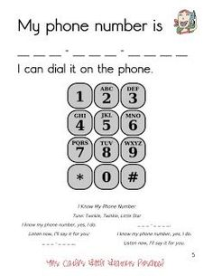 Ways To Teach Children Their Address And Phone Number  Fun