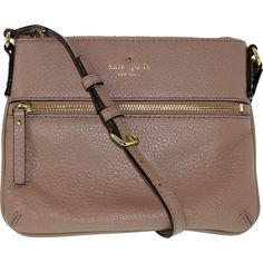 Kate Spade Women's Cobble Hill Tenley Leather Cross-Body Satchel