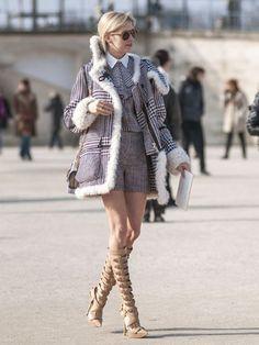 Day 5 Street Style at Paris Fashion Week