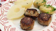 Gehaktballetjes met peertjes en nieuwe aardappelen   VTM Koken