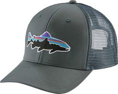 5140a0eb7598b Patagonia Men s Fitz Roy Trout Trucker Hat