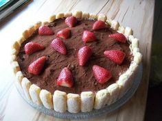 Rezept: Erdbeer-Tiramisukuchen