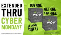 CyberMonday deals ends at Midnight.Place your order now. therevolution.myitworks. com