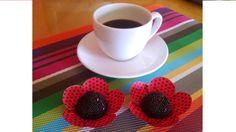 Brigadeiro com café: perfect duo!! Feito por mim.