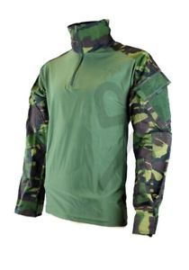 a ubacs military combat shirt british disruptive pattern material dpm