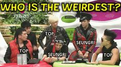 LOL XD If you watch Daesung's hand he starts pointing toward GD but then sees Seungri and Taeyang pointing at TOP so he changes to TOP.