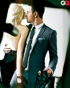 Lovin' the fit of this suit - Michael Fassbender GQ Photos - June 2012: Celebrities: GQ