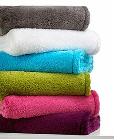 Berkshire Fluffy Soft Throw - on sale for $17.99 - any color