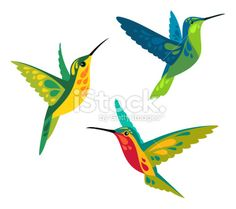 Find Stylized Birds - Hummingbirds in flight Stock Images in HD and millions of other royalty-free stock photos, illustrations, and vectors in the Shutterstock collection. Hummingbird Drawing, Hummingbird Tattoo, Clay Birds, Animals Images, Fabric Painting, Pebble Painting, Tole Painting, Free Vector Art, Royalty Free Stock Photos
