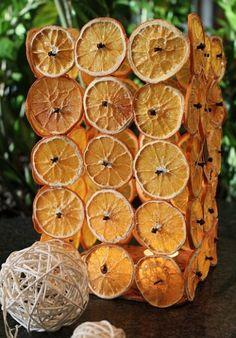 Zima - czas pomarańczy, goździków i cynamonu. Ozdoby na Boże Narodzenie i nie tylko