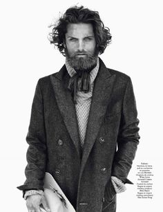 Sean OPry, Garrett Neff, Mathias Lauridsen + More for Vogue Hommes International