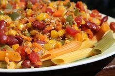 FAVORITE CHILI WITH PASTA by China Study – Get it here: http://www.amazon.com/gp/search/ref=as_li_qf_sp_sr_il_tl?ie=UTF8&camp=1789&creative=9325&index=aps&keywords=The%20china%20study&linkCode=as2&tag=amagifide05-20&linkId=TI6XMARZPBNM2LM7