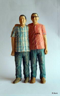 Good P rchen Figur aus Holz