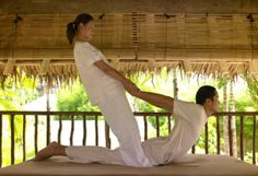 The Six Senses Thai Massage focuses on pressure points and gentle movements along the body's energy channels. Senses Spa, Spa Menu, Five Star Hotel, Luxury Spa, Throughout The World, Resort Spa, Energy Channels, Pressure Points, Stretching