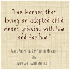 What Adoption Has Taught Me About Love.