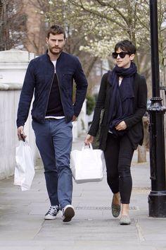 London, April 1, 2015 Jamie Dornan
