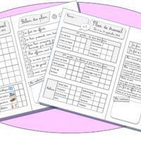 Plan de travail cycle 2 et outils