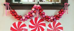tuTORIal: DIY Ornament Garland