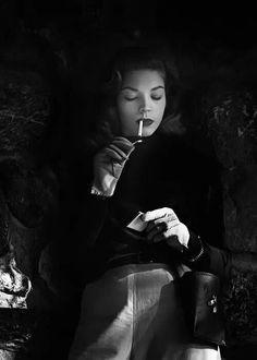 Lauren Bacall so noir
