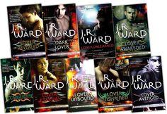 J.R. Ward's Black Dagger Brotherhood series. Awesome books.
