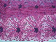 French Net Lace African Lace Fabric-8