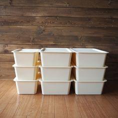 ***ダイソーの「スクエアボックス」でIKEAの「トロファスト」を簡単DIY! |LIMIA (リミア) Daiso, Kidsroom, My Dream Home, Diy And Crafts, New Homes, Organization, Cleaning, Storage, Interior