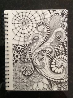 Zentangle by Diana Turner