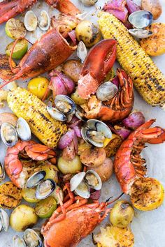 New England Clambake (no beach required!)