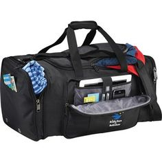 Image of Kenneth Cole Tech Travel Duffel Bag