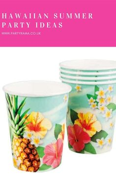 Celebrate a birthday, garden party or anniversary this year Hawaiian style with our collection of plates, tableware and decorations in a Hawaiian themed print that will add a pop of colour to your house or garden. Color Pop, Colour, Summer Parties, Best Part Of Me, Hawaiian, Serving Bowls, Party Supplies, Anniversary, Party Ideas
