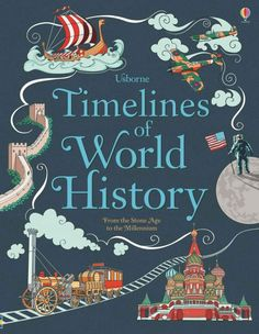 Usborne Timelines of World History #worldhistoryteaching #world #history #teaching #kids