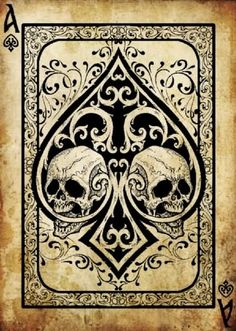 Don't like the skulls much but just like the shape and design of the ace