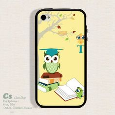 Case For Iphone 4 4s/5 high qulity Owl.